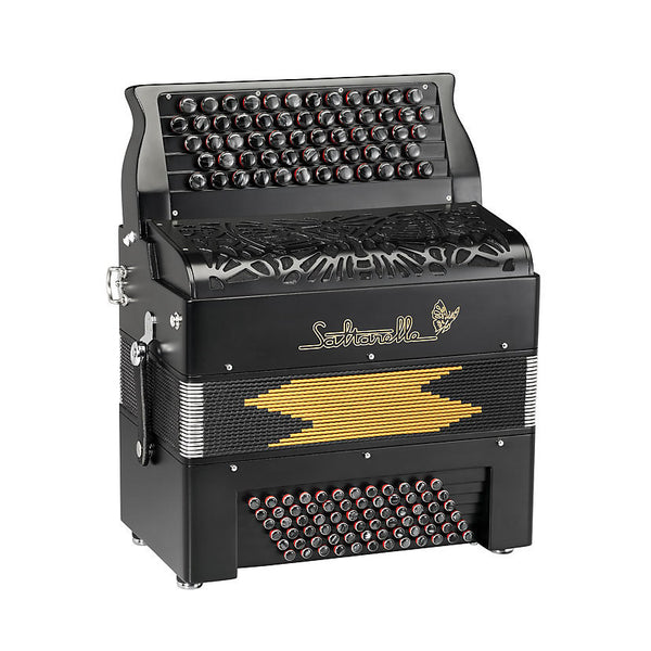Saltarelle Bourroche 3 voice Chromatic Accordion - TheReedLounge.com
