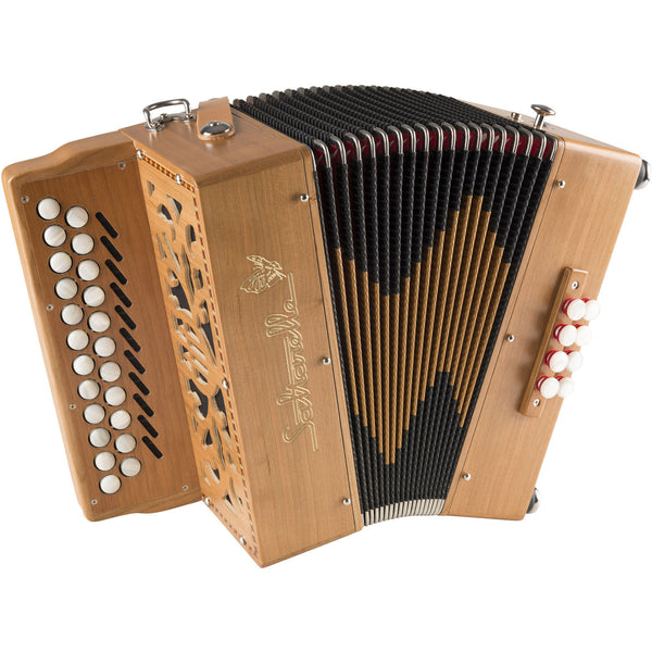 Saltarelle Irish Bouëbe 23 button melodeon/diatonic accordion - TheReedLounge.com