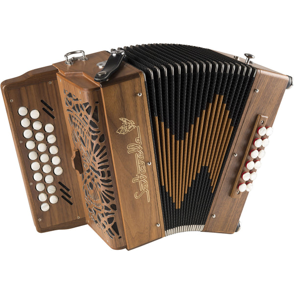 Saltarelle Luchta 2.5 row melodeon/diatonic accordion - TheReedLounge.com