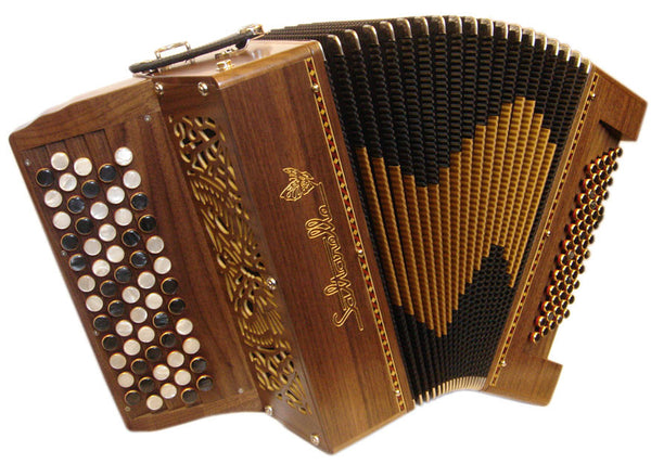 Saltarelle Chaville 2 voice Chromatic Accordion - TheReedLounge.com