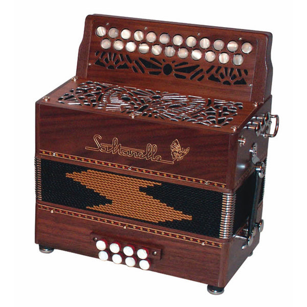 Saltarelle Nuage 2 row melodeon/diatonic accordion - TheReedLounge.com