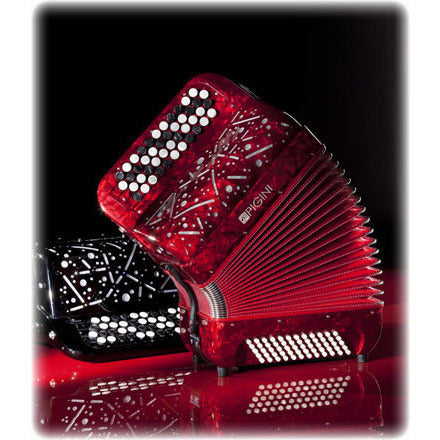 Pigini Skywalker 2 voice Chromatic button accordion - TheReedLounge.com