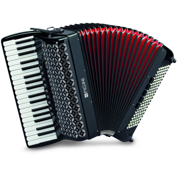 Pigini Wing 374 Lightweight 120 bass Piano Accordion - TheReedLounge.com