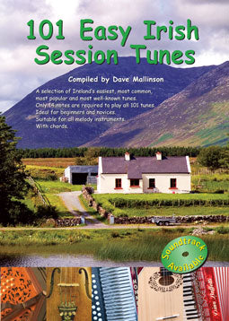 101 Easy Irish Session Tunes CD : Dave Mallinson - TheReedLounge.com