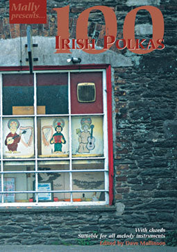 100 Irish Polkas CD - Dave Mallinson - TheReedLounge.com
