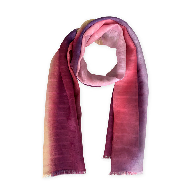linen-scarf-hand-painted-70x200cm-purple-pink-otta-italy-2132