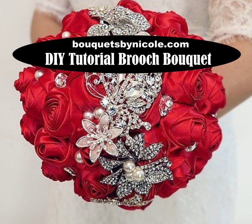 DIY Brooch Bouquet Video