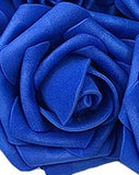 SAMPLE ~ Real Touch Foam Roses Wholesale Bulk RT-001