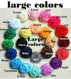 LARA-Satin Rose Brooch Bouquet or DIY KIT