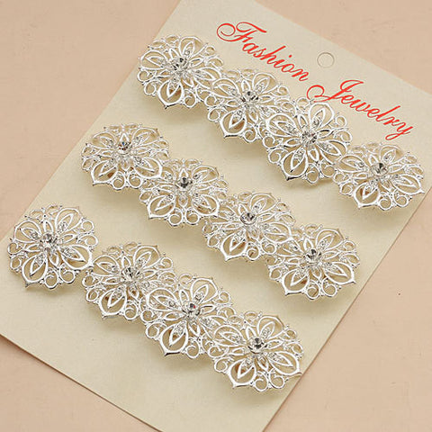12pcs. Rhinestone Brooches Lots BR-039