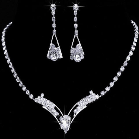Bridal Prom Jewelry Set JEW-A399