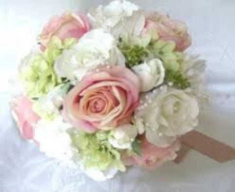 Silk Roses Customized Brooch Bouquet SILK- NICK