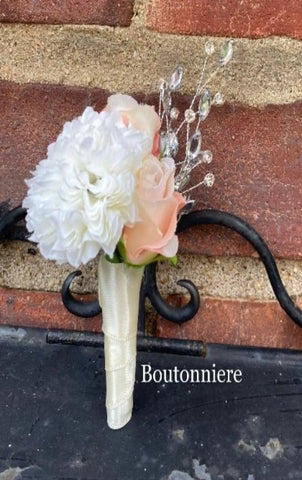 Boutonniere Lapel Pin Formal Wear Wedding Prom BT-070