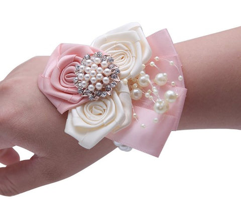 Wedding or Prom Wrist Corsage COR-002