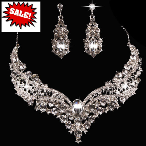 Bridal Prom Jewelry Set JEW-N001