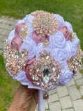 RETA ~ Deluxe Roses Rose Gold Brooch Bouquet or DIY KIT