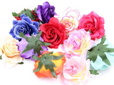 100pcs Deluxe Silk Rose Heads SF-0101