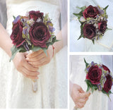 VAL ~ Special Value Bridal Bouquet Wedding Party Bridesmaids