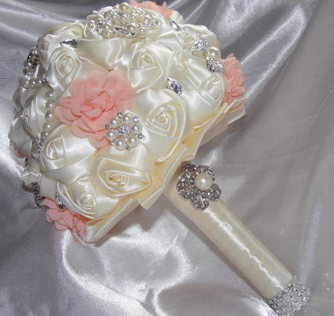 One Rose Sample 2 For Diy Bridal Bouquets 002