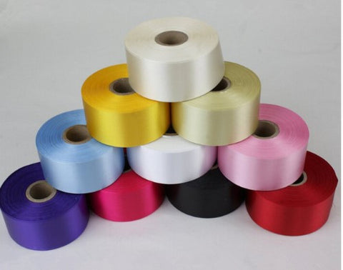 "25 Yards Satin Ribbon 2""  RIB-002"