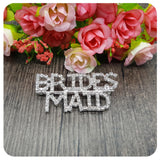 Groom's Mom Brooch Wedding Party Gift Rhinestone Crystal