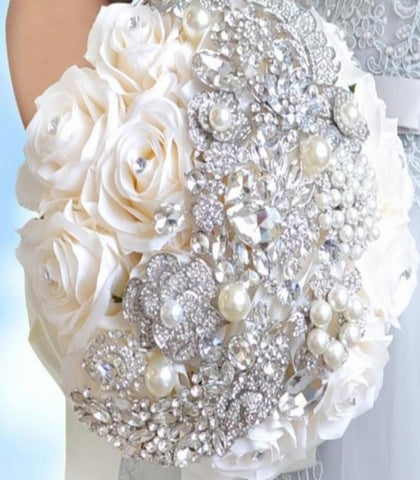 MONI~PACK Customize Bridal Brooch Bouquet Package