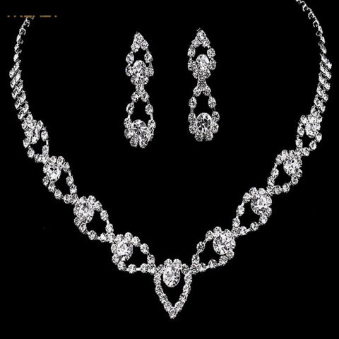 Bridal Prom Jewelry Set JEW-A899