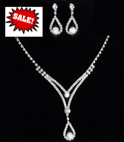 Bridal Prom Jewelry Set JEW-AL3