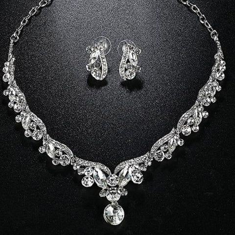 Bridal Prom Jewelry Set JEW-AL900