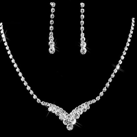 Bridal Prom Jewelry Set JEW-A299