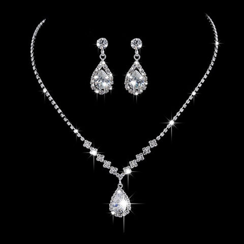 Bridal Prom Jewelry Set JEW-AL001