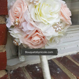 LAYLA ~ Customize Your Package Silk Roses Bouquet