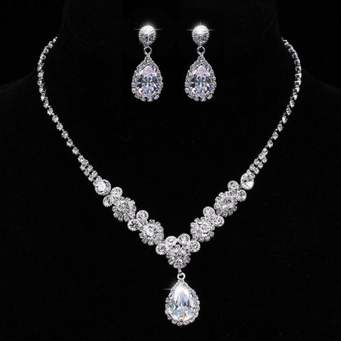Bridal Prom Jewelry Set JEW-AL700