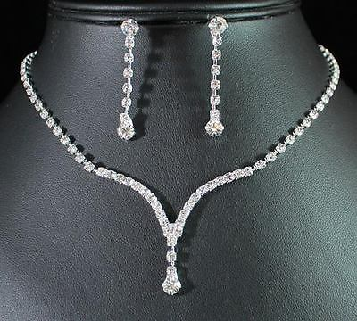 Bridal Prom Jewelry Set JEW-N12770