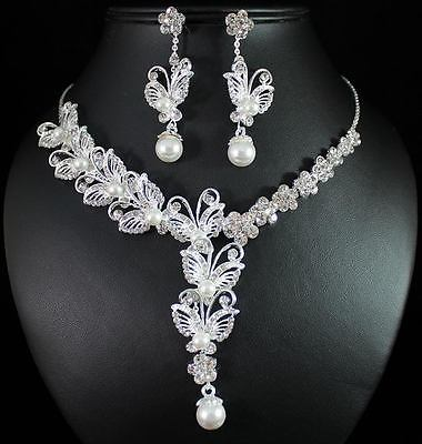 Bridal Prom Jewelry Set JEW-N13850