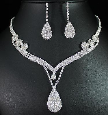 Bridal Prom Jewelry Set JEW-N13880