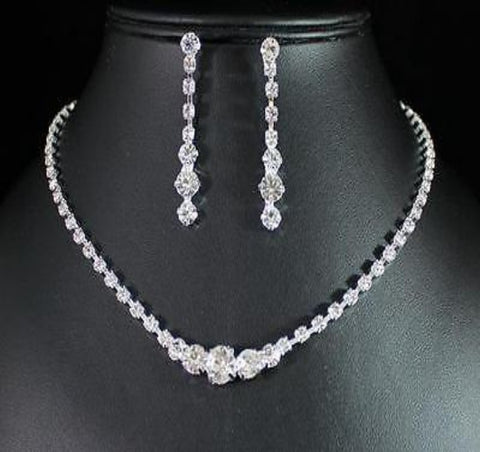 Bridal Prom Jewelry Set JEW-N13920