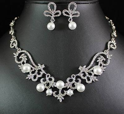 Bridal Prom Jewelry Set JEW-N14230