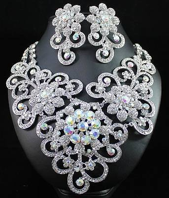 Bridal Prom Jewelry Set JEW-N14260