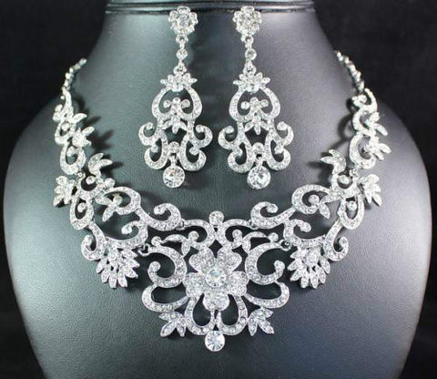 Bridal Prom Jewelry Set JEW-N15000