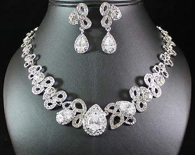 Bridal Prom Jewelry Set JEW-N15740