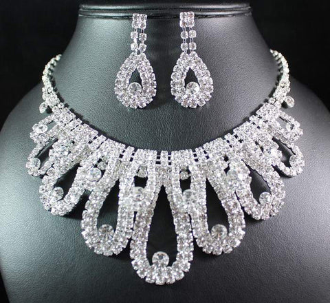 Bridal Prom Jewelry Set JEW-N16020