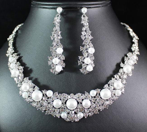 Bridal Prom Jewelry Set JEW-N16030