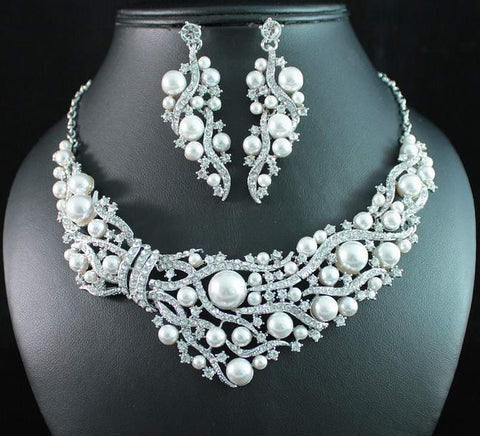 Bridal Prom Jewelry Set JEW-N17080
