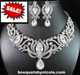 Bridal Prom Jewelry Set JEW-N17820