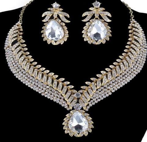 Bridal Prom Jewelry Set JEW-N8120
