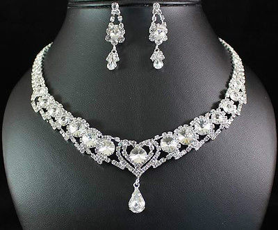 Bridal Prom Jewelry Set JEW-N14360
