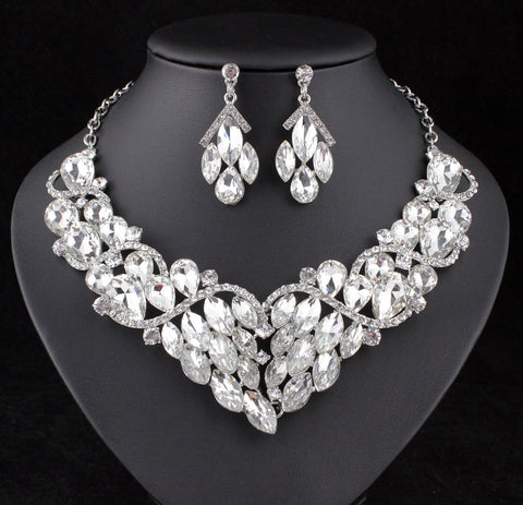 Bridal Prom Jewelry Set JEW-N9280
