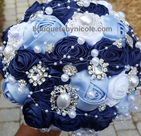 LACI Deluxe Roses Brooch Bouquet or DIY KIT