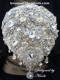 Luxury Brooch Bouquet BCUST- PRINCESS
